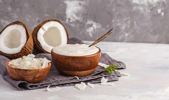 Coconut yogurt for dogs
