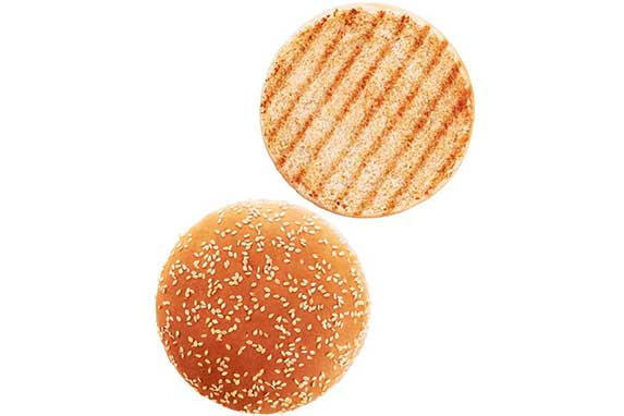 Hamburger buns for dogs