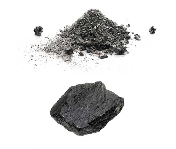 ash and charcoal